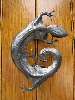 Gecko Doorknocker